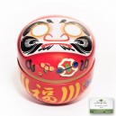 Boîte à thé japonaise «Daruma»